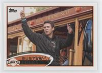 Buster Posey (On Railcar)