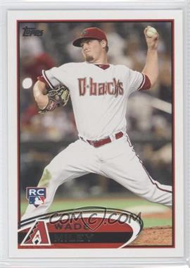 2012 Topps #558 - Wade Miley