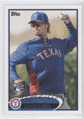 2012 Topps #660.3 - Yu Darvish (Sunglasses)