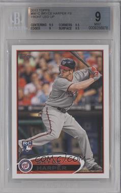 2012 Topps #661.1 - Bryce Harper (Grey Jersey) [BGS9]