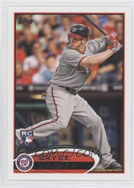 2012 Topps #661.1 - Bryce Harper (Grey Jersey)