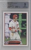 Bryce Harper (White Jersey, Excited) [BGS 9]