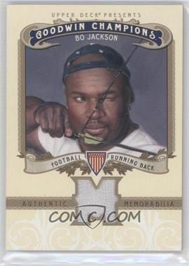2012 Upper Deck Goodwin Champions Authentic Memorabilia #M-BJ - Bo Jackson