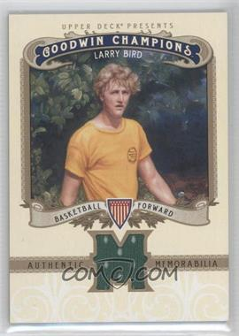 2012 Upper Deck Goodwin Champions Authentic Memorabilia #M-LB - Larry Bird