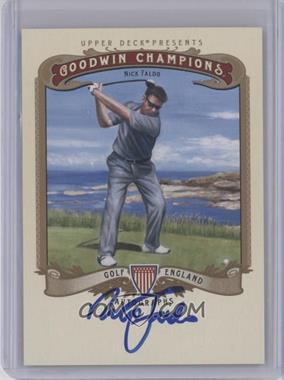 2012 Upper Deck Goodwin Champions Autographs #A-NF - Nick Faldo