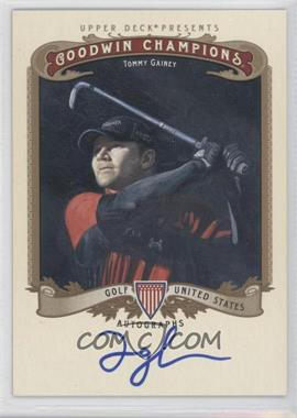 2012 Upper Deck Goodwin Champions Autographs #A-TG - Tommy Gainey