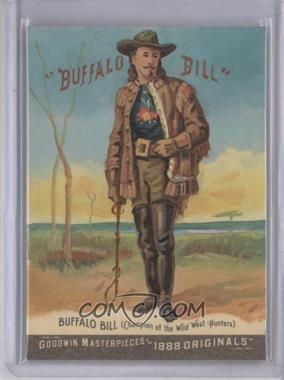 2012 Upper Deck Goodwin Champions Goodwin Masterpieces 1888 Originals [Autographed] #GMPS-47 - Buffalo Bill Cody /10