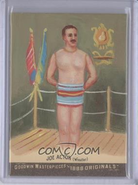 2012 Upper Deck Goodwin Champions Goodwin Masterpieces 1888 Originals [Autographed] #GMPS-48 - Joseph Acton /10
