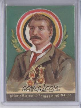 2012 Upper Deck Goodwin Champions Goodwin Masterpieces 1888 Originals [Autographed] #GMPS-50 - Captain Adam Bogardus /10