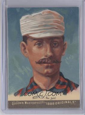 2012 Upper Deck Goodwin Champions Goodwin Masterpieces 1888 Originals [Autographed] #GMPS-7 - Tim Keefe /10