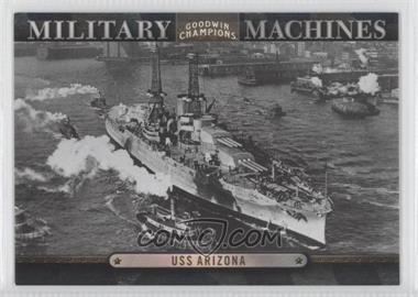 2012 Upper Deck Goodwin Champions Military Machines #MM 8 - USS Arizona