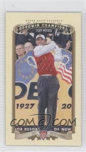 2012 Upper Deck Goodwin Champions Minis #100 - Tiger Woods