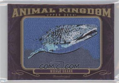 2012 Upper Deck Goodwin Champions Multi-Year Issue Animal Kingdom Manufactured Patches #AK-170 - Whale Shark