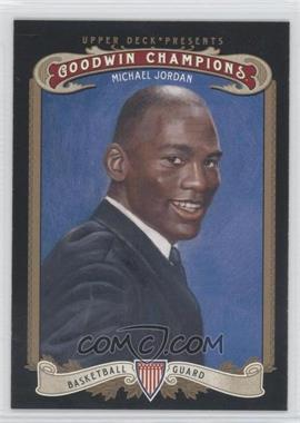 2012 Upper Deck Goodwin Champions #123.1 - Michael Jordan