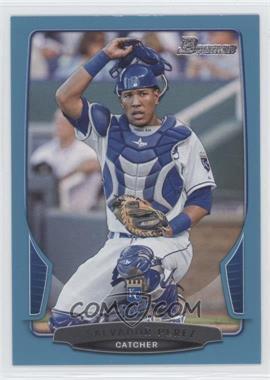 2013 Bowman - [Base] - Blue Border #103 - Salvador Perez /500