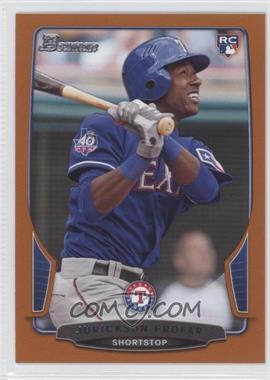 2013 Bowman - [Base] - Orange #83 - Jurickson Profar /250
