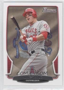 2013 Bowman - [Base] - State & Home Town #121 - Mike Trout