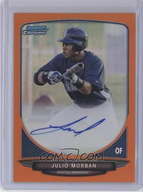 2013 Bowman - Chrome Prospects Autographs - Orange Refractor #BCP-JM - Julio Morban /25