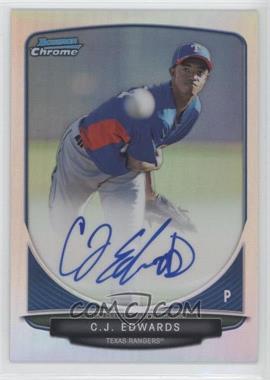 2013 Bowman - Chrome Prospects Autographs - Refractor #BCP-CE - C.J. Edwards /500