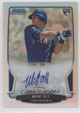 2013 Bowman - Chrome Rookie Autographs - Refractor #ACR-MO - Mike Olt /500