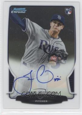 2013 Bowman - Chrome Rookie Autographs #ACR-JO - Jake Odorizzi