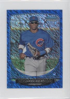 2013 Bowman - Cream of the Crop Chrome Mini Refractor - Blue Wave #CC-CC2 - Jorge Soler /250