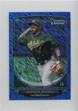 2013 Bowman - Cream of the Crop Chrome Mini Refractor - Blue Wave #CC-OA1 - Addison Russell /250