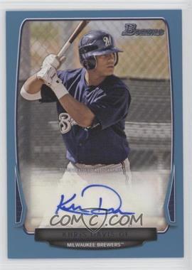 2013 Bowman - Prospect Autographs - Retail Blue #BPA-KD - Khris Davis /500