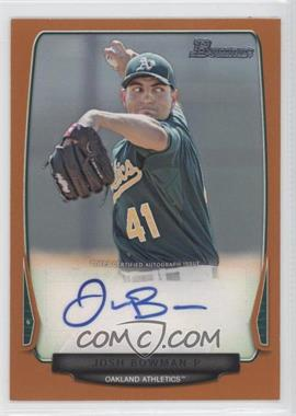 2013 Bowman - Prospect Autographs - Retail Orange #BPA-JB - Josh Bowman /250