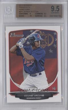 2013 Bowman - Prospects - Hometown #BP1 - Byron Buxton [BGS 9.5]
