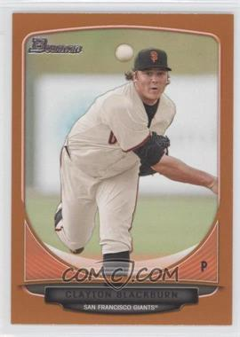 2013 Bowman - Prospects - Orange #BP98 - Clayton Blackburn /250