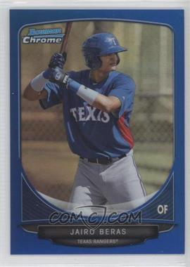 2013 Bowman - Prospects Chrome - Blue Refractor #BCP105 - Jairo Beras /250