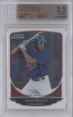 2013 Bowman - Prospects Chrome #BCP1 - Byron Buxton [BGS9.5]