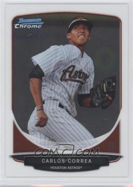 2013 Bowman - Prospects Chrome #BCP100 - Carlos Correa