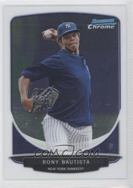 2013 Bowman - Prospects Chrome #BCP90 - Rony Bautista
