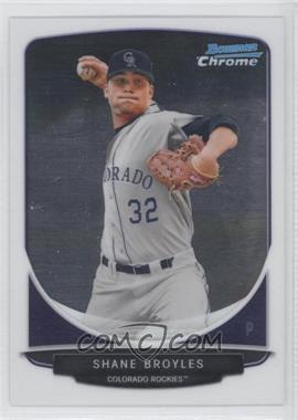 2013 Bowman - Prospects Chrome #BCP96 - Shane Broyles