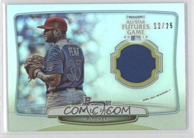 2013 Bowman 2012 SiriusXM All-Star Futures Game Relics #FGR-AP - Ariel Pena /25