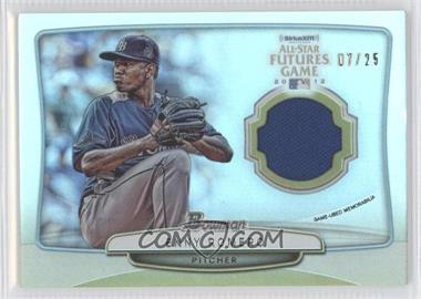 2013 Bowman 2012 SiriusXM All-Star Futures Game Relics #FGR-ER - Enny Romero /25