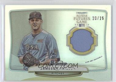 2013 Bowman 2012 SiriusXM All-Star Futures Game Relics #FGR-JT - Jameson Taillon /25