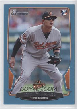 2013 Bowman Blue Border #215 - Manny Machado /500
