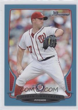 2013 Bowman Blue Border #96 - Jordan Zimmermann /500