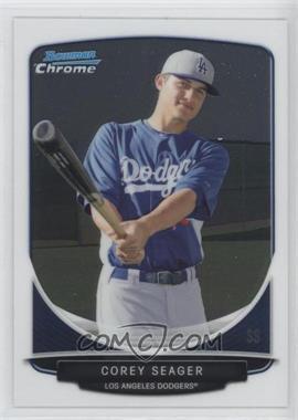 2013 Bowman Chrome - Prospects #BCP125.2 - Corey Seager (swinging bat)