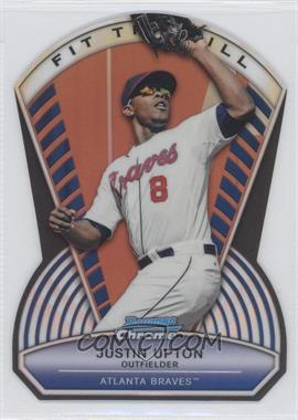 2013 Bowman Chrome Fit the Bill #FTB-JU - Justin Upton /99