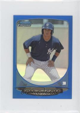2013 Bowman Chrome Minis Blue Refractor #304 - Fu-Lin Kuo /99