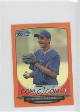 2013 Bowman Chrome Minis Orange Refractor #93 - Danny Salazar /15