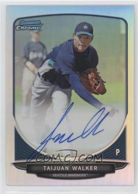2013 Bowman Chrome Prospects Autographs Refractor #BCP-TW - Taijuan Walker /500