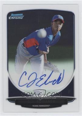 2013 Bowman Chrome Prospects Autographs #BCP-CE - C.J. Edwards