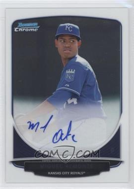 2013 Bowman Chrome Prospects Autographs #BCP-MA - Miguel Almonte