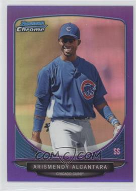 2013 Bowman Chrome Prospects Purple Refractor #BCP119 - Arismendy Alcantara /199