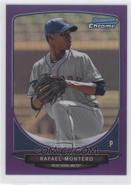2013 Bowman Chrome Prospects Purple Refractor #BCP204 - Rafael Montero /199